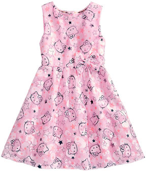 Hello Kitty Mesh Graphic-Print Dress, Toddler Girls (2T-5T)