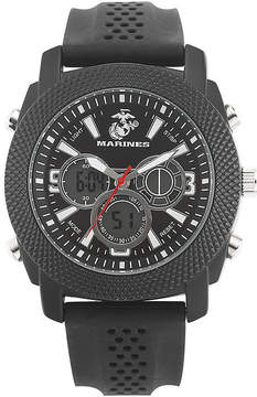 JCPenney WRIST ARMOR Wrist Armor C21 Mens US Marine Corps Rubber Strap Chronograph Watch