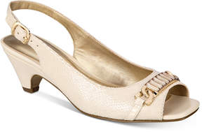 Karen Scott Anyaa Slingback Pumps, Created for Macy's Women's Shoes
