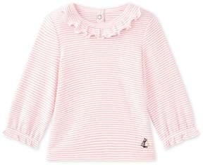 Petit Bateau Baby girls' striped T-shirt