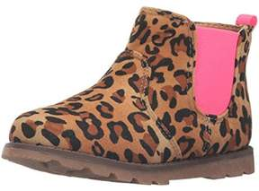 Carter's Girls Lennox Cheetah Print Ankle Chelsea Boots