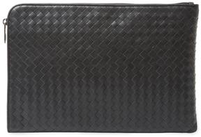 Bottega Veneta Woven Leather Portfolio
