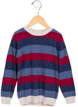 Il Gufo Boys' Wool-Blend Striped Sweater w/ Tags