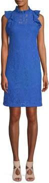 Alexia Admor Women's Floral Lace Shift Dress