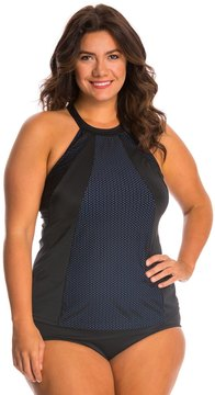 Fit 4 U Fit4U Plus Size Boy Meets Girl High Neck Top 8125113