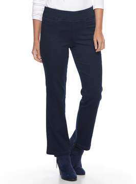 Croft & Barrow Women's Pull-On Bootcut Jeans
