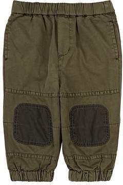 Stella McCartney Infants' Knee-Patch Cotton Twill Pants
