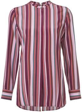 Figue Monique pyjama-style striped shirt