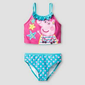 Peppa Pig Girls' Tankini - Pink