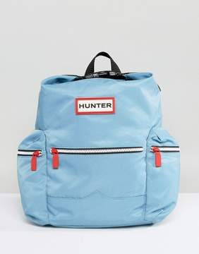 Hunter Original Mini Pale Blue Nylon Backpack