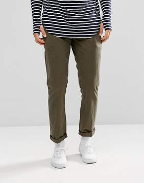 Jack Wills Keadby Slim Fit Chino Pants In Olive