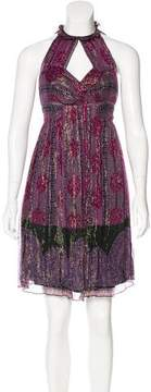 Anna Sui Silk Knee-Length Dress
