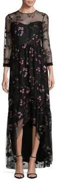 Shoshanna Floral Essich Dress