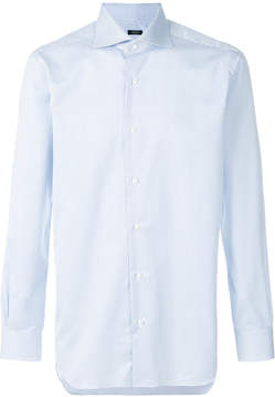 Barba pointed collar shirt