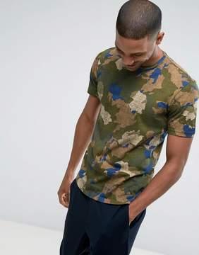 Benetton T-Shirt In Camo Print