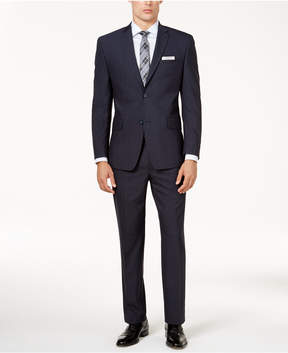 Andrew Marc Men's Classic-Fit Windowpane Stretch Suit