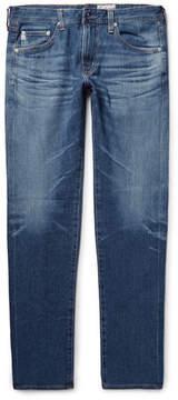 AG Jeans Nomad Slim-Fit Selvedge Denim Jeans
