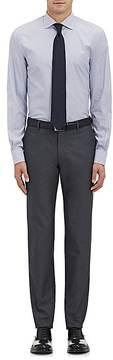 Ralph Lauren Purple Label MEN'S CHECKED COTTON DRESS SHIRT