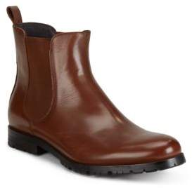 Saks Fifth Avenue Leather Chelsea Boots