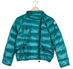 Moncler Girls' Hooded Puffer Jacket