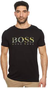 BOSS ORANGE Tauno 7 Banana Leaf Boss Logo Men's Clothing
