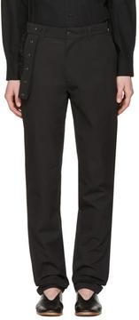 Craig Green Black Slim Trousers