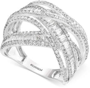Effy Diamond Multi-Band Weave-Style Ring (2 ct. t.w.)