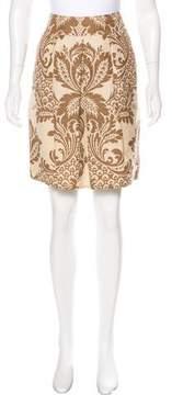 DKNY Linen Knee-Length Skirt