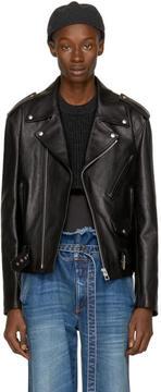 Loewe Black Street Journal Biker Jacket