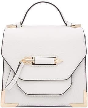 Mackage White Rubie Crossbody Mini Bag