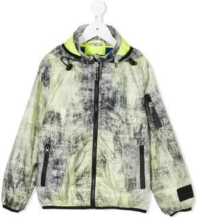 Diadora Junior printed jacket