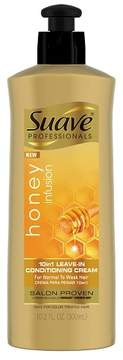 Suave Professionals Honey Infusion 10 in 1 Leave In Conditioning Cream - 10.2oz