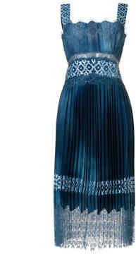 Ermanno Scervino pleated dress