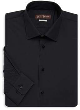 Hickey Freeman Contemporary-Fit Dress Shirt