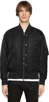 Diesel Black Gold Nylon Bomber Jacket