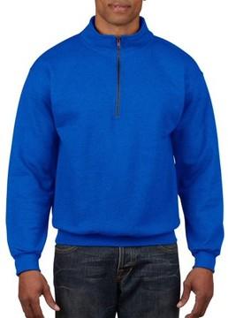 Gildan Big Men's 1/4 Zip Cadet Collar Sweatshirt, 2XL
