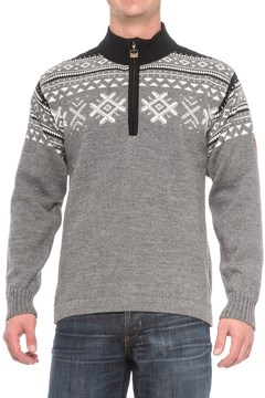 Dale of Norway Dovre Sweater - New Wool, Zip Neck (For Men)