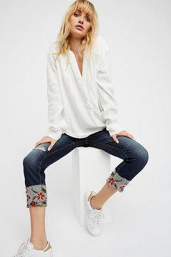 Driftwood Collette Cigarette Jean by at Free People