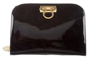 Salvatore Ferragamo Patent Leather Gancio Bag