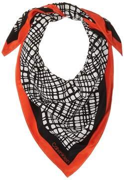 Calvin Klein Geo Neckerchief Scarves