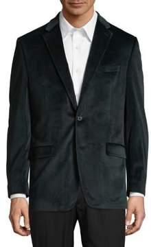Lauren Ralph Lauren Buttoned Velvet Sportcoat
