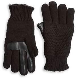 Isotoner Basic Textured Gloves