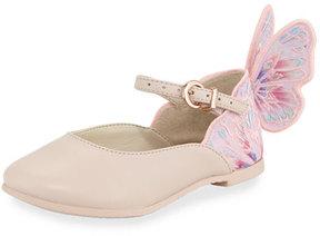 Sophia Webster Chiara Butterfly Mini Ballet Flat