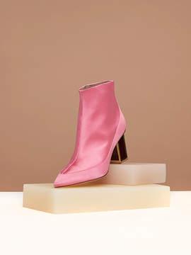 Diane von Furstenberg Cainta Satin Boots