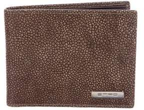 Etro Embossed Leather Wallet