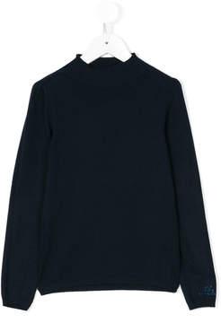 Miss Blumarine embellished pullover