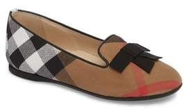 Burberry Ally Bow Loafer Flat
