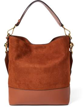 Ralph Lauren Nubuck Leather Hobo Bag