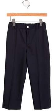 Oscar de la Renta Boys' Wool-Blend Straight-Leg Pants w/ Tags