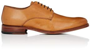 Grenson MEN'S TOBY BURNISHED LEATHER BLUCHERS